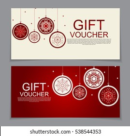 gift voucher template sample text vector stock vector royalty free