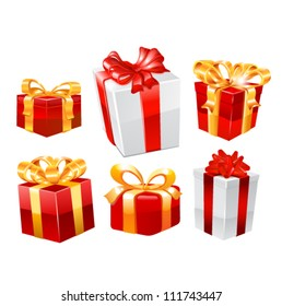 Gifts. Vector