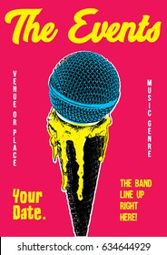 Gig Poster Template