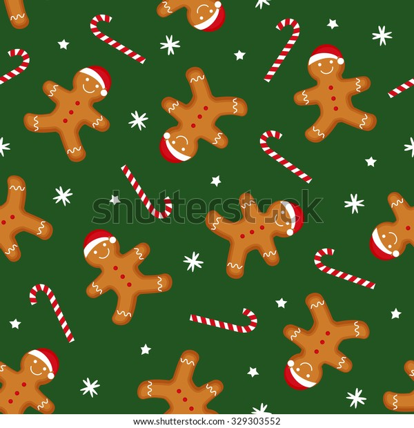 gingerbread man decorated xmas hat 600w 329303552