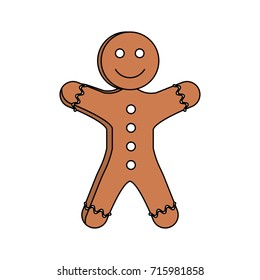 gingerbread man pastry icon image