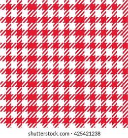 gingham fabric seamless pattern
