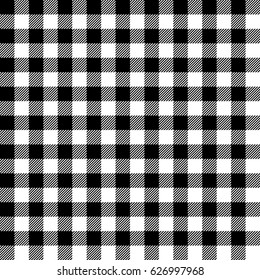 Gingham seamless plaid pattern.