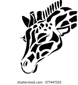 Giraffe Face Images Stock Photos Amp Vectors Shutterstock