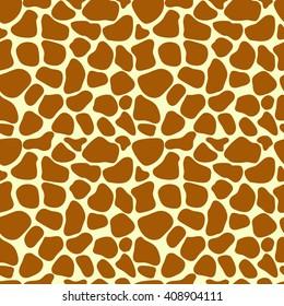 Giraffe skin. Giraffe seamless pattern. Giraffe print