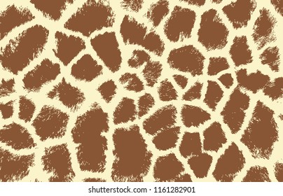giraffe texture pattern brown white