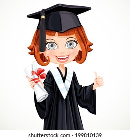Graduation Girl Cartoon Images Stock Photos Amp Vectors