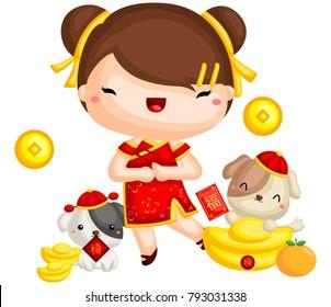 Girl Chinese New Year