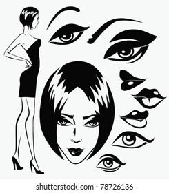 Sexy Cartoon Eye Images Stock Photos Vectors Shutterstock
