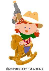 girl cowboy style