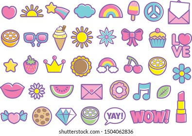 Girl Icons Signs and Symbols