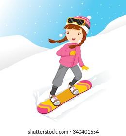 Snowboarder Cartoon Images Stock Photos Vectors Shutterstock