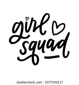 Girl Squad with hearts