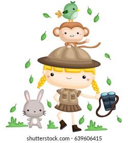 Girl Zookeeper