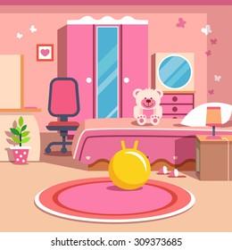 Girl Bedroom Mirror Stock Vectors, Images & Vector Art ...