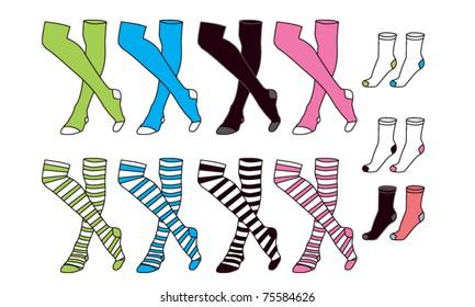 Girls and Boy Socks