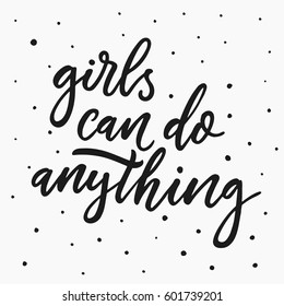 Girl Quotes Images, Stock Photos & Vectors | Shutterstock
