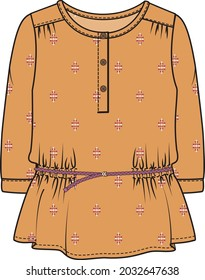 GIRLS AND TEEN WOVEN TOP AND TUNIC