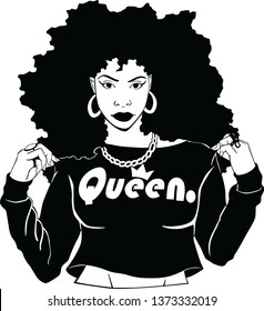 Afro girls with The AFRO