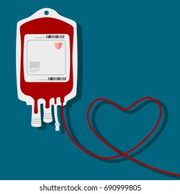 Give blood vector.