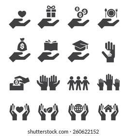 Symbol geben und schützen