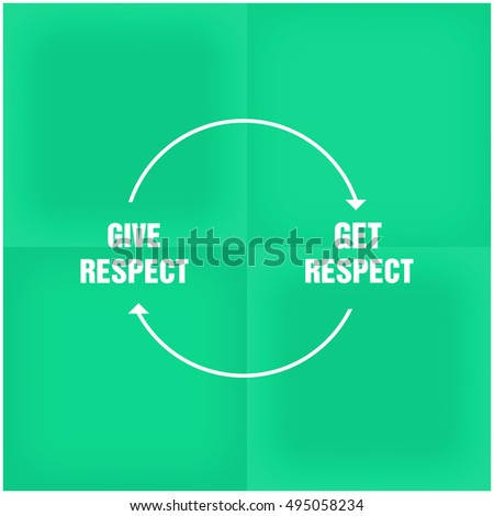 give respect to get respect