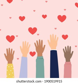 Give your love to people who love, donation for love around the world.