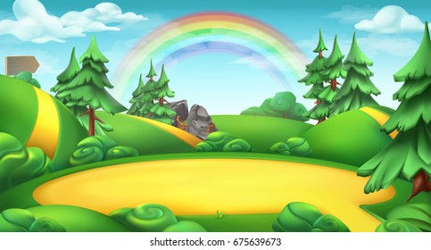 cartoon forest images stock photos vectors shutterstock rh shutterstock com cartoon forest background hd cartoon forest background clipart