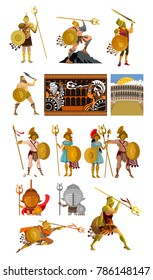 gladiator warriors collection
