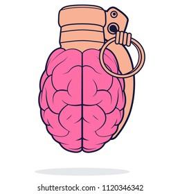 glamor explosion of the brain