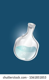 glass chemical bottle icon