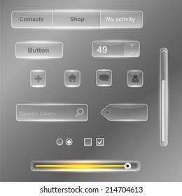 Glass interface