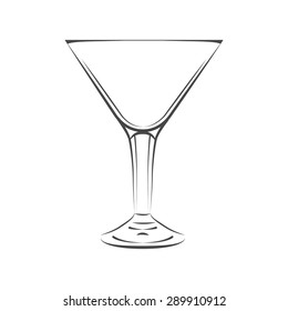 glass of martini and other cocktail