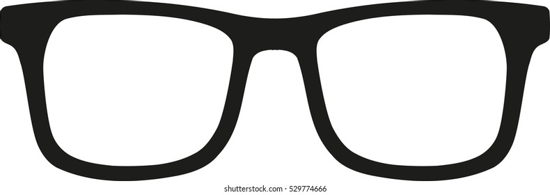 Glasses hipster style