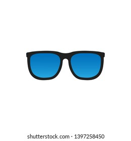 Glasses icon symbol on white background