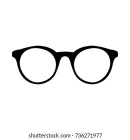 Glasses icon. Vector.