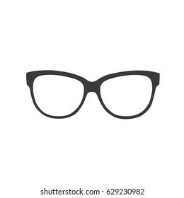 Glasses icon, vector illustration design. Glasses collection.