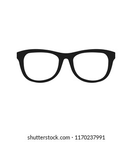 Glasses icon. Vector. Isolated.