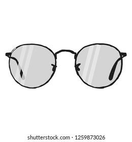 Glasses Optical Rimless