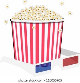 glasses and Popcorn