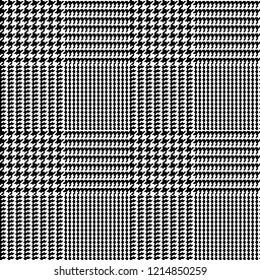 Glen Plaid--Seamless Pattern Vector Illustration