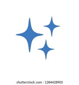 Gliiter icon illustration.Blink blink