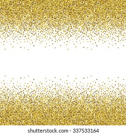 Glitter seamless texture. Trendy modern vector illustration.