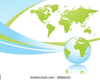 global business. vector.