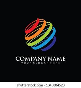 Global Digital Logo Icon