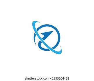 Global icon illustration