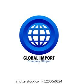 Global import logo