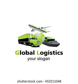 Global Logistic vector logo