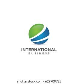 global logo icon vector template