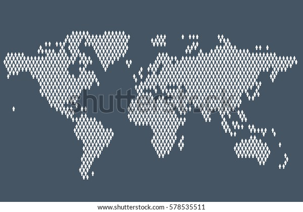 Global Potion World Map Made People Stock Vector ... on made up topographic maps, made up flags, made up gifts, made up toys, made up characters, made up games, made up photography, made up solar system, made up physical maps, made up country maps, made up military,